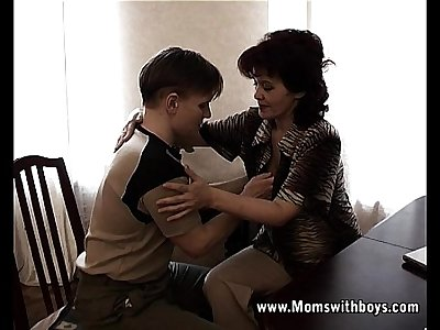 Horny Mature School Councilor Fucking A Student