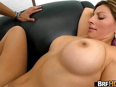 Big tits MILF latina first time facial.6
