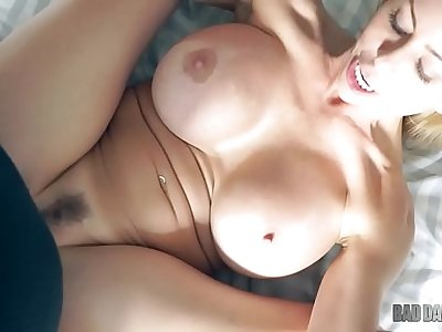 Alexis Fawks - Busty Blonde MILF Fucked Just Right