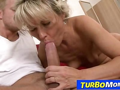 Hairy blonde lady rough sex feat. czech milf Magdalena