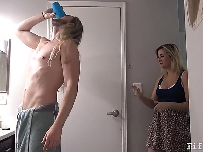 Mom Gives Son Viagra - Fifi Foxx and Cock Ninja
